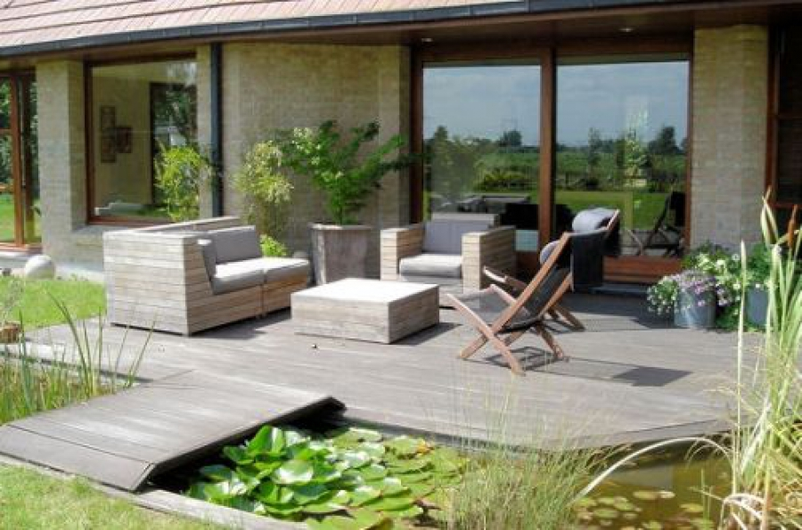 Amazing Stunning Exemple Terrasse Bois With Exemple Terrasse Bois With  Modele De Terrasse En Bois